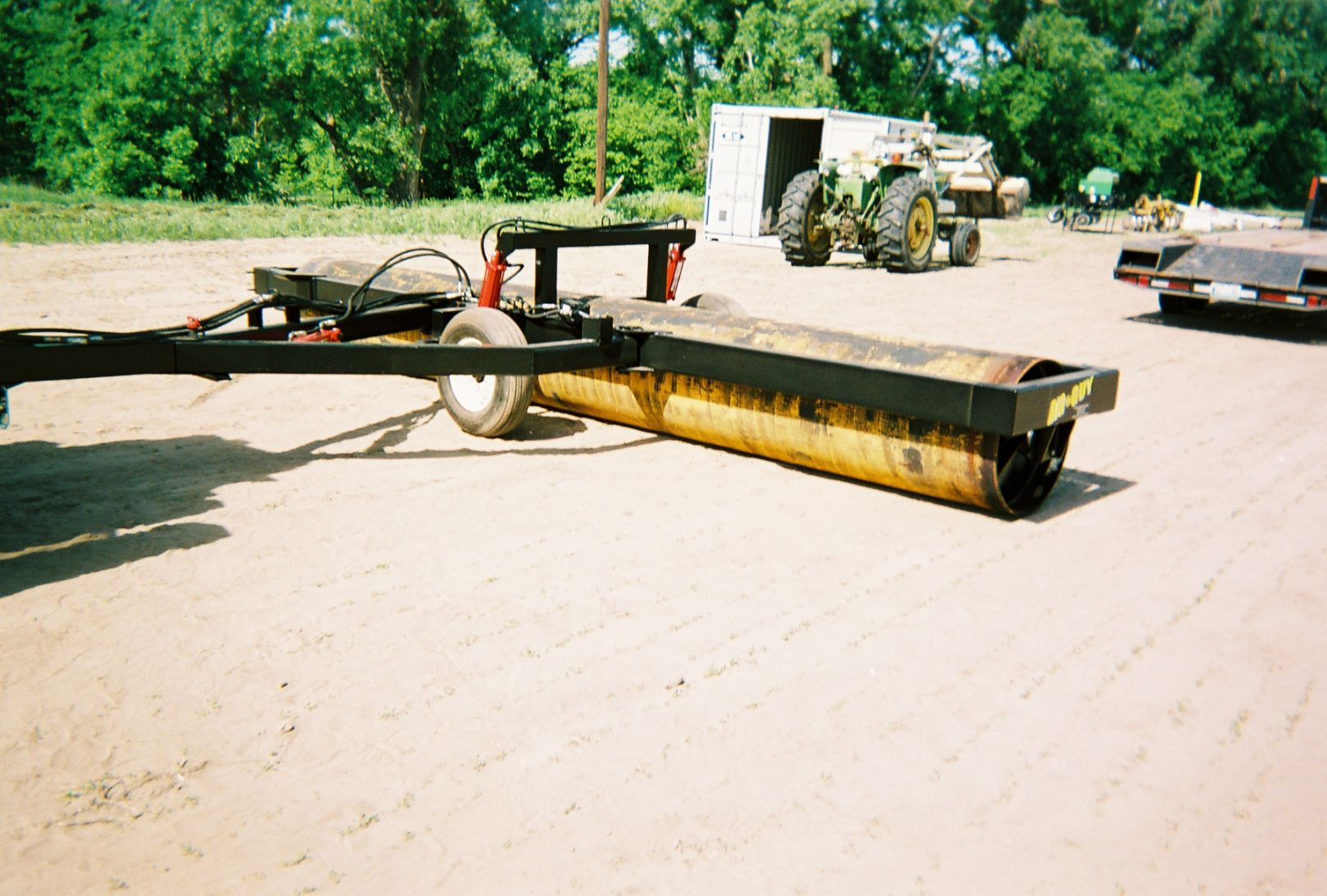 End transport field roller