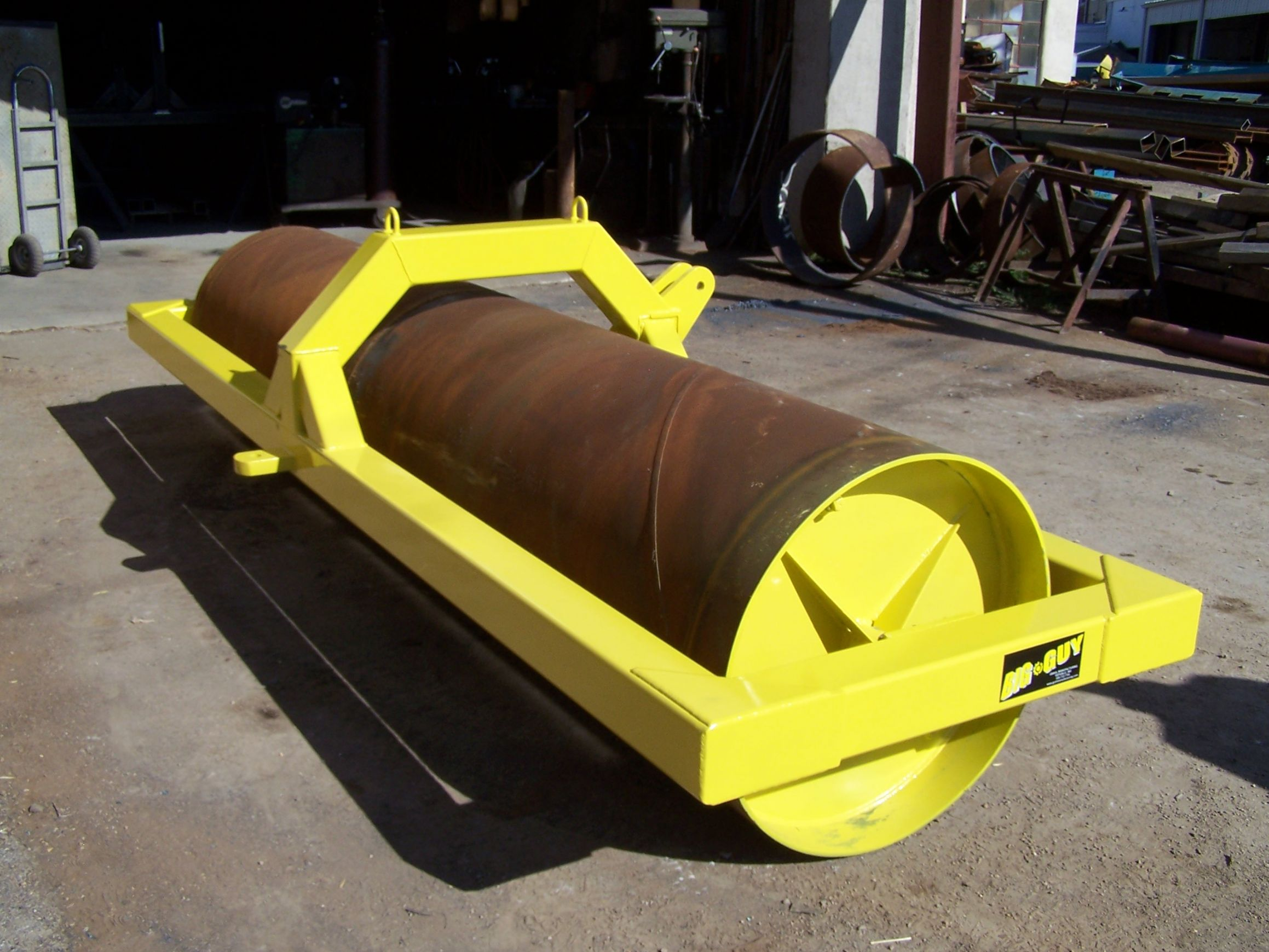 Large 3 pt field roller version